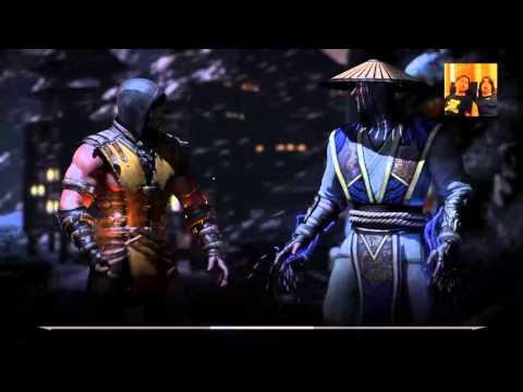La batalla mas épica entre estúpidos|Mortal Kombat X