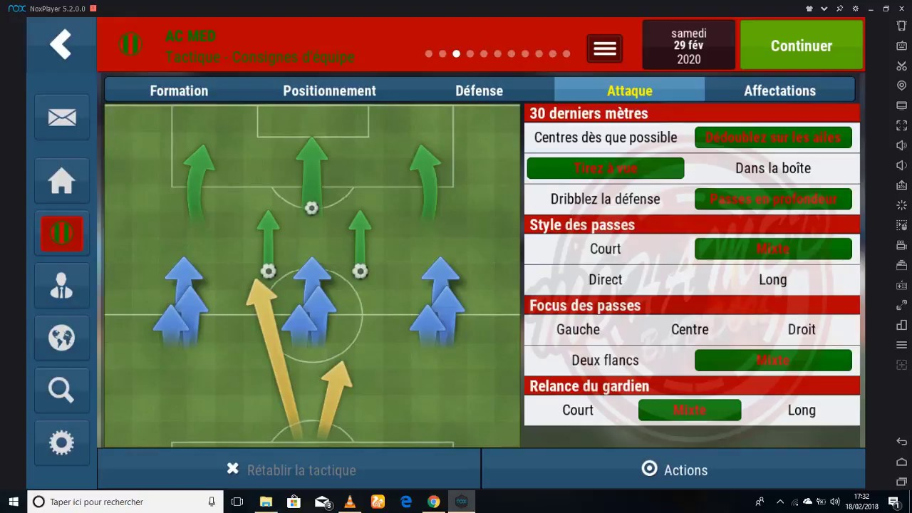 Best Formation Football Manager 2020 The Best Tactic en Football Manager Mobile 2018   YouTube