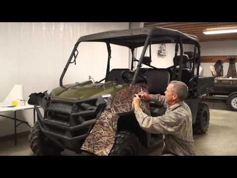 Mossy Oak Graphics ATV/UTV/Golf Cart Installation Video