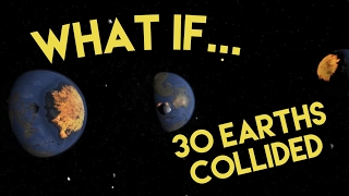 WHAT IF 30 EARTHS COLLIDED | 20k SUBSCRIBER SPECIAL