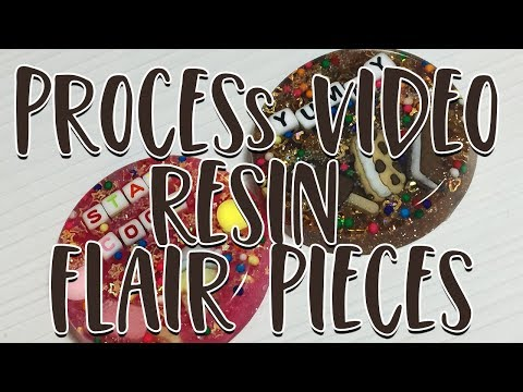 Process Video: Resin Flair Buttons