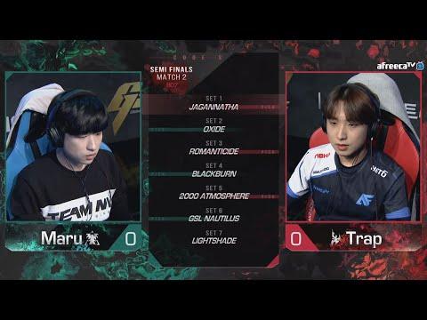 Maru vs Trap - 2021 GSL Season 1 - Map 7