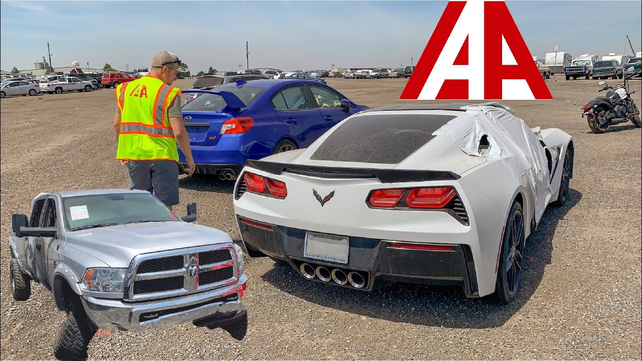 Iaa Walk Around Cars And Trucks At Insurance Auto Auction Youtube