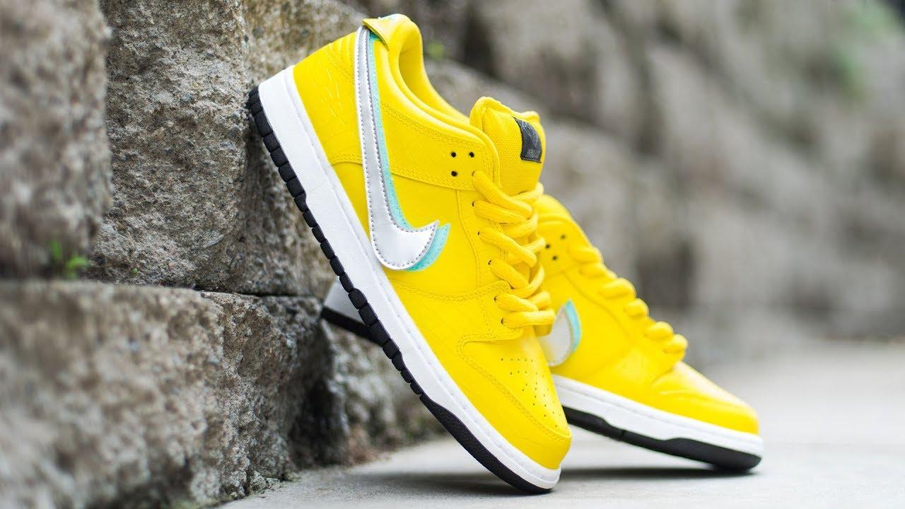 Nike SB Canary Diamond Friends \u0026 Family