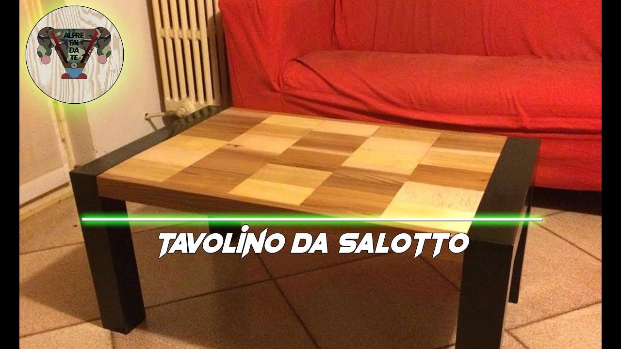 Tavoli Da Salotto Fai Da Te : Bellissimo tavolino da salotto a costo zero alfre fai da te youtube