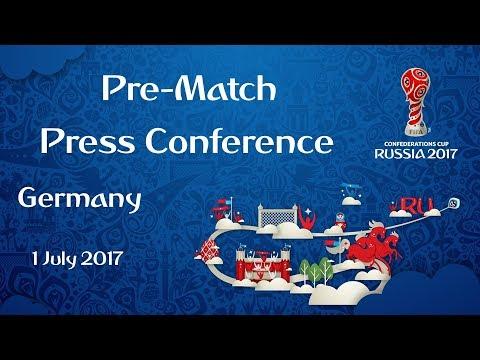 CHI v. GER - FINAL - Germany - Pre-Match Press Conference