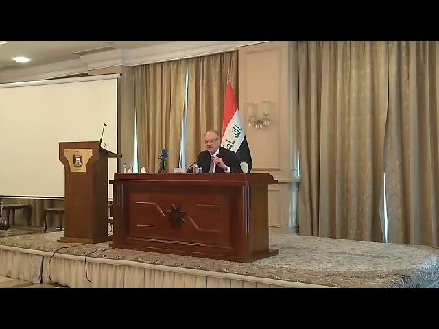 جلسة خاصة لوزير المالية الدكتور علي علاوي ( عرض منطلقات الاصلاح )