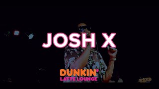 Josh X Describes Working With Cardi B, Rick Ross + Performs Live In The Dunkin Latte Lounge