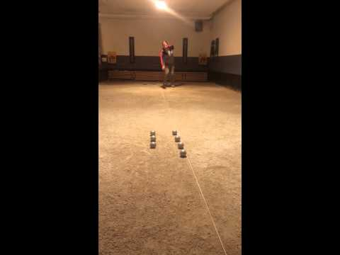 Robin Johansson training day and trickshots in Boule Petanq