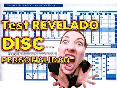 DISC EXAMEN LABORAL DE PERSONALIDAD