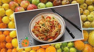 Рецепт №23. Рисовая лапша с креветками по-тайски