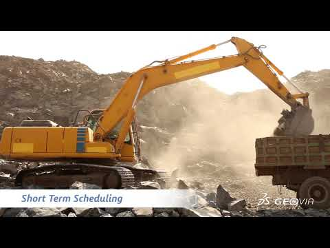 GEOVIA MineSched - Advanced Scheduling for Surface & Underground Mines