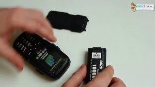 Телефон LandRover на 3 сим карты с большой батареей 10000 mAh(GSM 1900/GSM 1800/GSM 900/GSM 850 Размер дисплея: 2.2 дюйма 3 сим карты Разрешение экрана: QVGA (320 * 240px) Тип экрана: TFT Цвет диспл..., 2016-01-31T21:02:33.000Z)