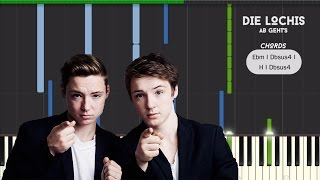 die lochis ab gehts synthesia piano tutorial