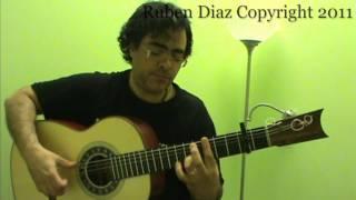 Tangos 2 Falseta Interactive Lesson / Flamenco Guitar / GFC estudio Malaga Ruben Diaz & CFGstudio