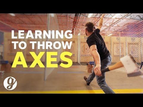 How To Throw An Axe with World Axe Throwing League Competitor  GRATEFUL
