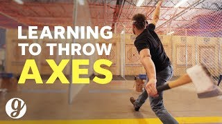 How To Throw An Axe with World Axe Throwing League Competitor | GRATEFUL
