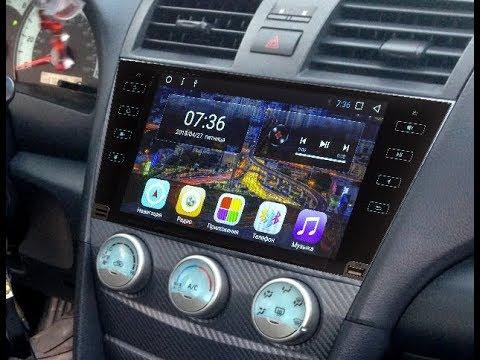 Штатная магнитола Toyota Camry V40 (2006-2012) Android ZOY-3067