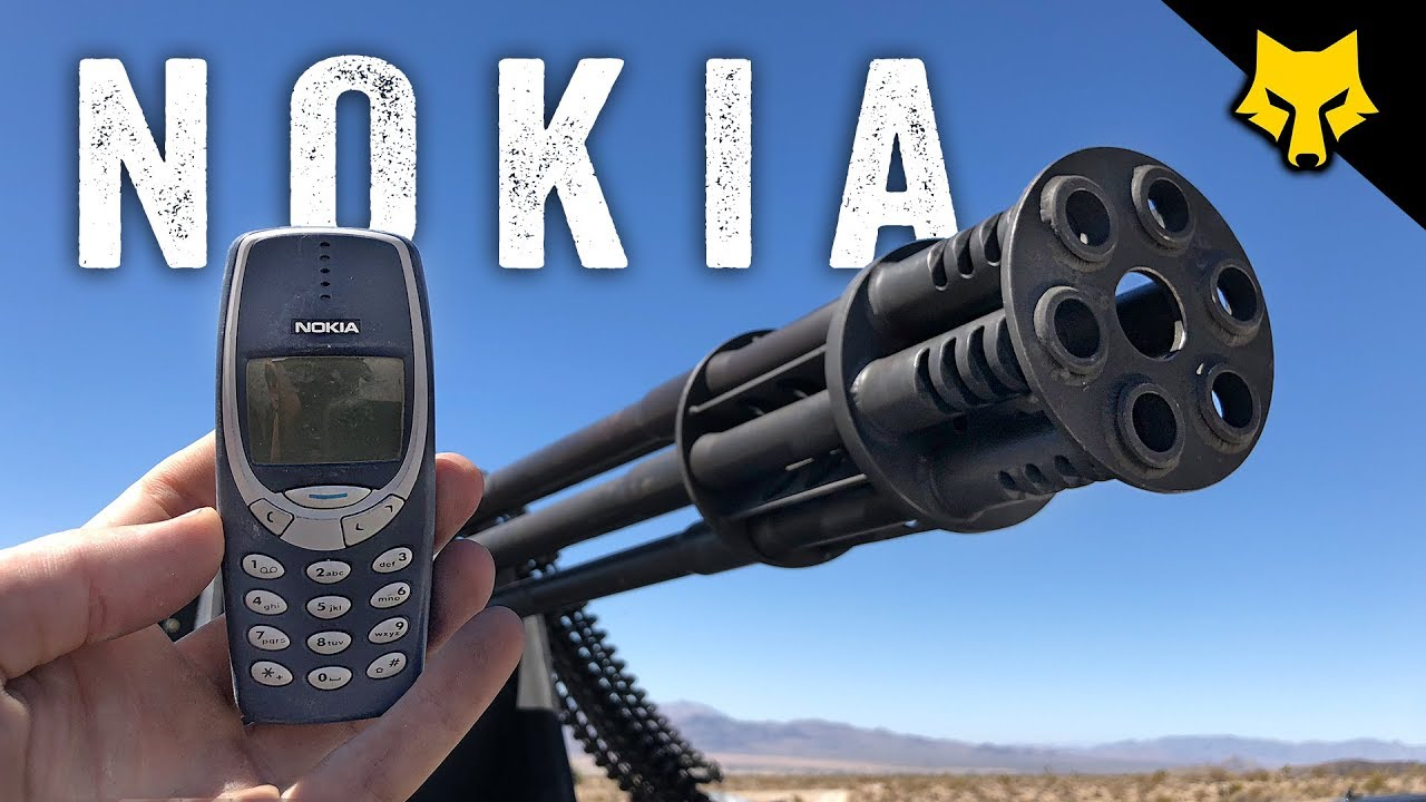 Bulletproof' Nokia 3310 turns out to be a lie (VIDEO)
