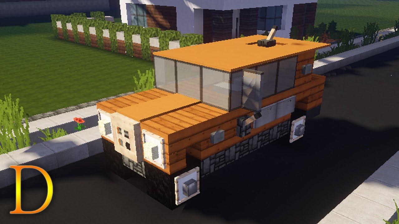 Minecraft pojazdy jak zbudowa samoch d terenowy suv youtube - Moissonneuse cars ...