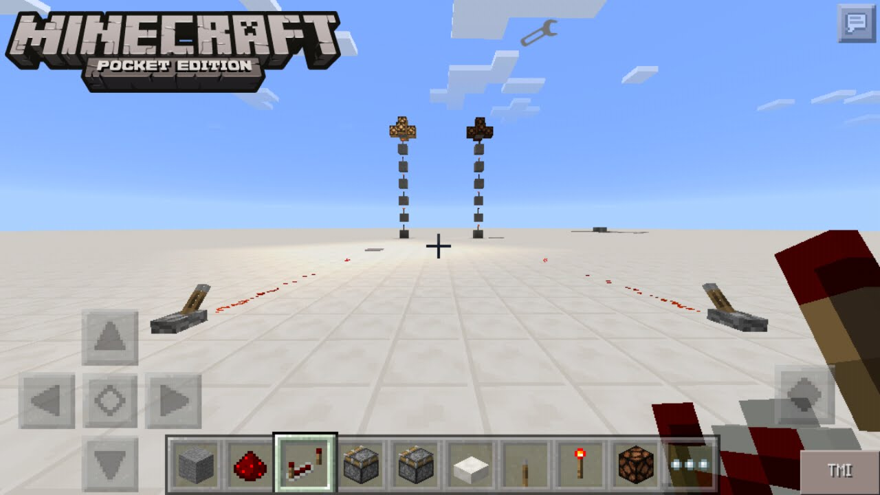 how to make a piston in minecraft pe 0.13.0