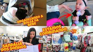 RECEBIDOS -  FOMOS PASSEAR NA CIDADE -  BOLSA DA BEBE - LOJA INFANTIL!