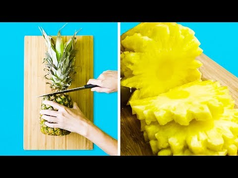25 GENIUS WAYS TO CUT FRUIT AND VEGETABLES