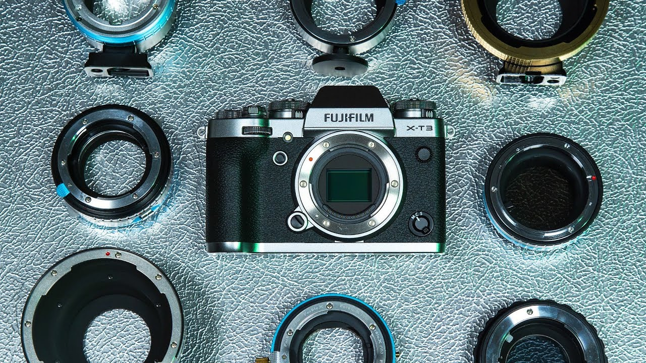 Pro Lens Adapters for FUJIFILM X-mount Cameras