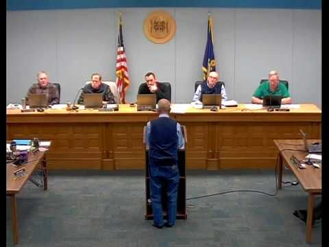 01 03 2018 Board of County Commissioners Meeting