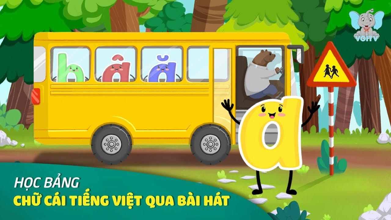 Abc Song | Học Chữ Cái Tiếng Việt Qua Bài Hát | Nhạc Thiếu Nhi Tổng Hợp 2019 | Voi TV