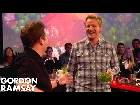 Trying to Make Pea Soup with Jonny Vegas  Gordon Ramsay