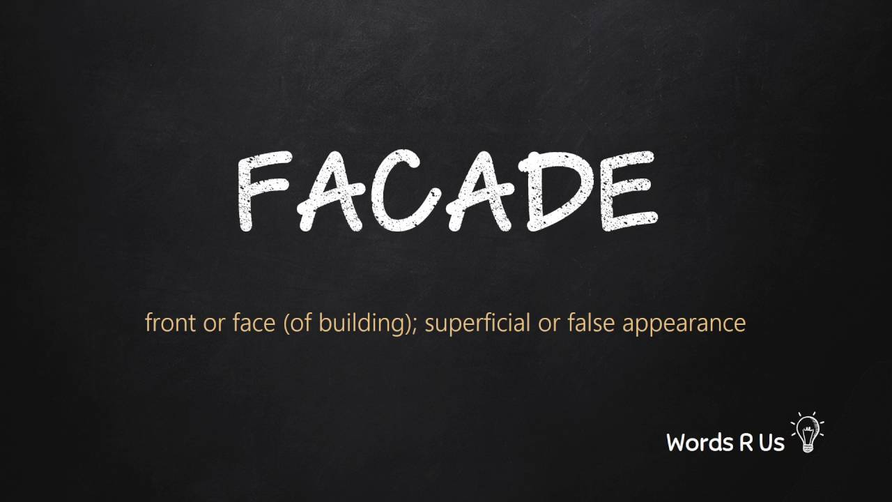 How to Pronounce FACADE in American English