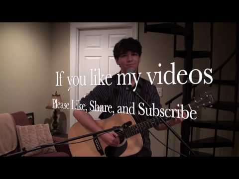 Just Be Held - Casting Crowns (LIVE Acoustic Cover by Drew Greenway)