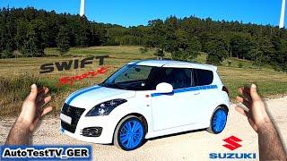 Suzuki Swift Sport 2016 | POV Test Drive | Autobahn | AutoTestTV_GER