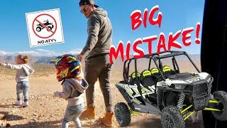 BIG MISTAKE we almost CRASHED!