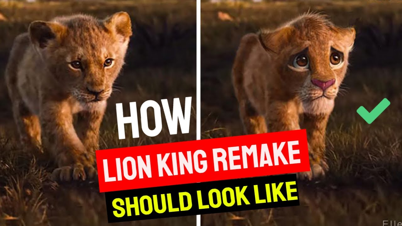 How The Lion King Remake Should Look Like
