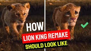 ✅ How The Lion King Remake Should Look Like