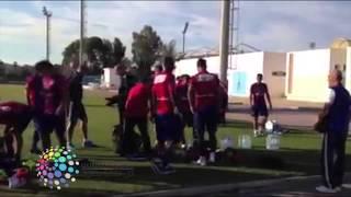 فيديو| مران الأهلي في ملعب رادس