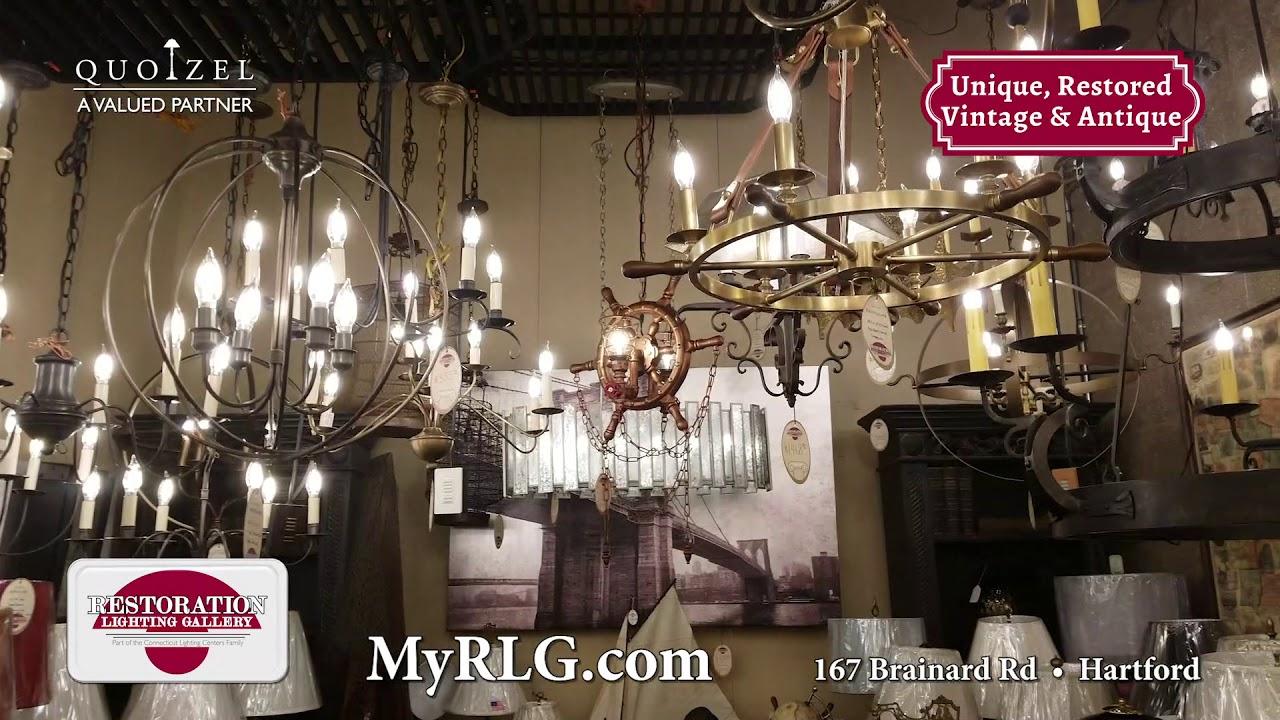 CT Lighting Centers: RLG Institutional Quoizel #2 - YouTube