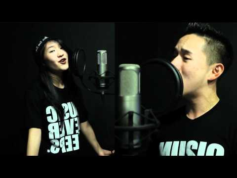 Never Say Never Justin Bieber ft Jaden Smith   Jason Chen ft Megan Lee