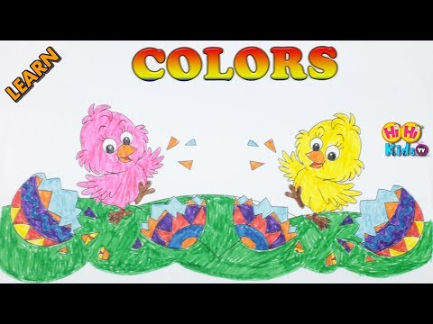 Coloring Video for Kids | How to Draw and Paint | Basic Color Learning for Children