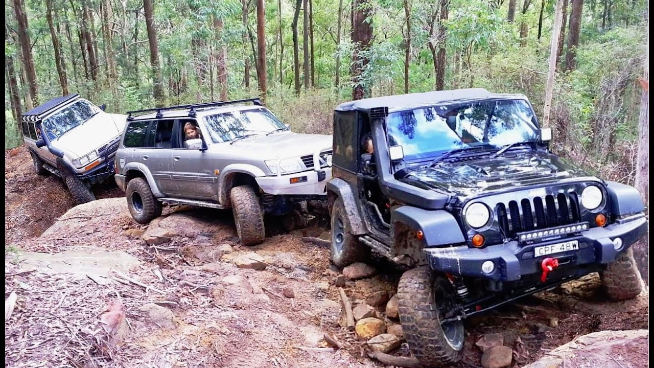 jeep vs nissan vs toyota @ ultratune ourimbah - youtube
