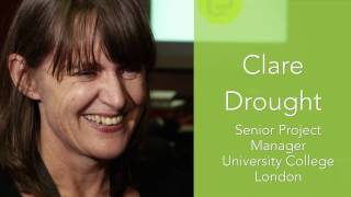 MEDIAL | Video Testimonial | Claire Drought - University College London