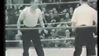 Бой китайских мастеров ушу Тайцзицюань vs  Белый журавль 1954
