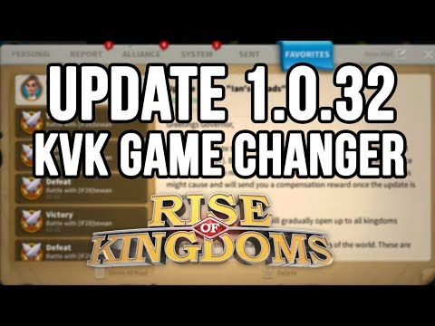 "GAME CHANGER in KvK Update 1.0.32 ""Ians Ballads"" 