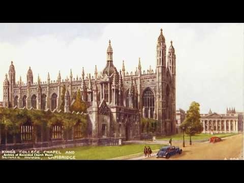Five Mystical Songs Vaughan Williams: King's Cambridge 1960 David Willcocks