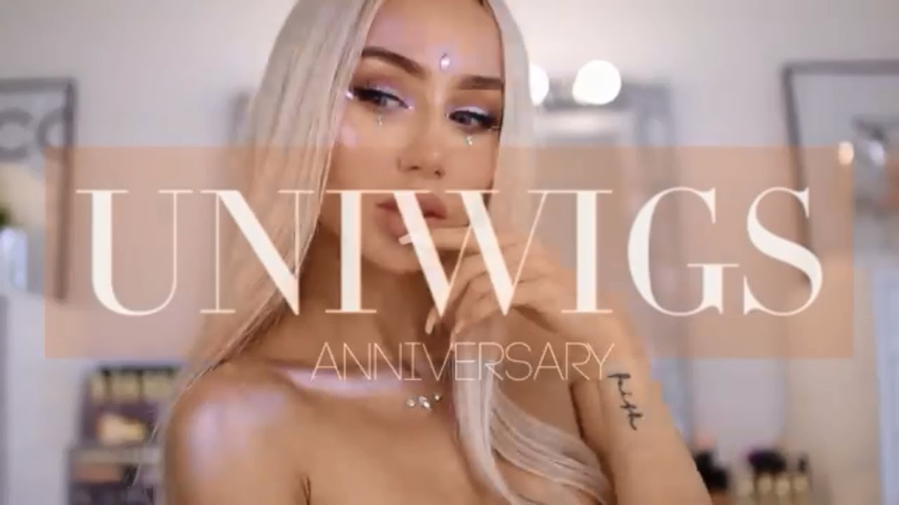 Celebrating UniWigs 6th Anniversary  Enjoy 28%Off All Hair Products
