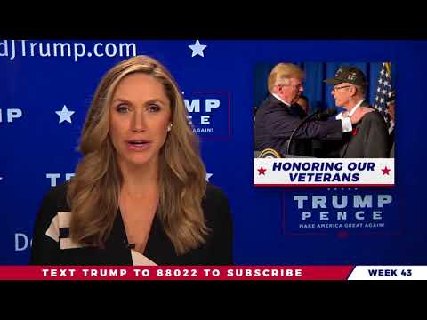WATCH THE REAL NEWS: Lara Trump Weekly Update On The Real News on President Donald Trump 11/18/17