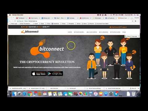 How To Transfer Bitcoin From Coinbase To BITCONNECT!!!!
