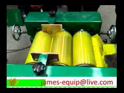 Three roller mill for Yellow Ink